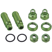 GV 33B450Gr Front  Shock  Body  Set 3.5MM <Green> - 33B450Gr