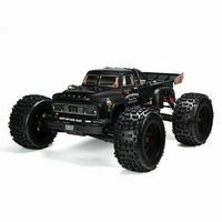 ARRMA NOTORTIOUS 4wd Offroad RC Car, 2018 Spec, 6S BLX RTR, Black