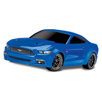 Traxxas Ford Mustang Gt 4Wd, Tq 2.4 Ghz Radio, Xl-5 Esc, No Battery & Charger - 39-83044-4BLUE