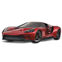 Traxxas Ford Gt 4Wd Rtr, Tqi 2.4 Ghz Radio, Xl-5 Esc, Tsm, No Battery & Charger - 39-83056-4RED
