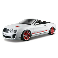 BBURAGO Die Cast Model Bentley Continental Supersports Convertible Isr - 40-11035