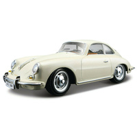 BBURAGO Die Cast Model Porsche 356B Coupe 1961 - 40-22079