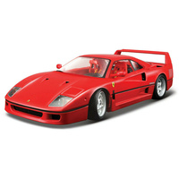 BBURAGO Die Cast Model Ferrari F40 - 41-16601