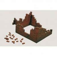 Italeri Plastic Model Kit Plastic Model Kit Brick Walls 1:35 - 51-0405S