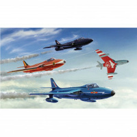Italeri Plastic Model Kit Plastic Model Kit Hunter F.6 / Fga.9 1:48 - 51-2772S