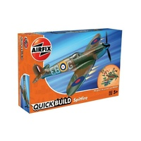 Airfix Plastic Model Kit Quickbuild Supermarine Spitfire - 56-J6000