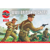 Airfix Wwii British Infantry N. Europe1:72 - 58-00763V