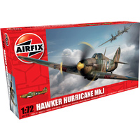 Airfix Plastic Model Kit Hawker Hurricane Mk1 1:72 - 58-01010