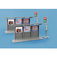 Peco Bus Stop & Shelter - 66-5007