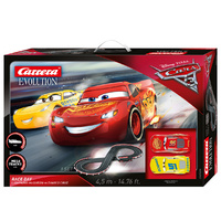 Carrera Evo- Disney Pixar Cars 3 - Race - 720 25226