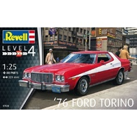 '76 Ford Torino 1:25 Scale Plastic Model Kit - 95-07038