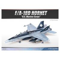 "Academy 12422 1/72 F/A 18D Hornet ""Us Marines"" *Aus Decal* Plastic Model Kit - Aca-12422"
