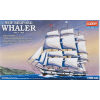 Academy 1/200 New Bedford Whaler Plastic - Aca-14204
