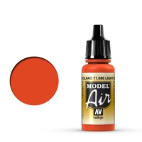 Vallejo 71086 Model Air Light Red 17 ml Acrylic Airbrush Paint
