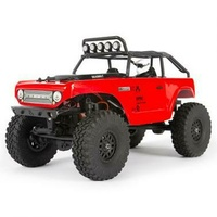 Axial Scx24 Deadbolt 1/24 Scale Crawler, RTR, Red - Axi90081T1