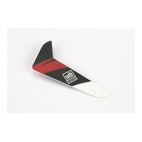 Blade Vertical Fin W/Red Decal: 120Sr - Blh3120R