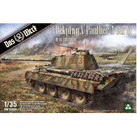 DASWERK 35009 1/35 PANTHER AUSF.A EARLY PLASTIC MODEL KIT