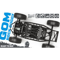G-Made Gr01 Gom 1-10Th 4WD Off Road Ready To Run Crawler Buggy - Gma56010
