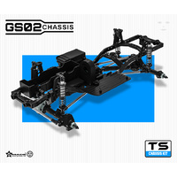 G-Made Gs02 Ts 1-10Th 4WD Ultimate Trail Chassis Kit  - Gma57002