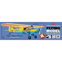 Guillow'S 303Lc Piper Cub 95 - Laser Cut Balsa Plane Model Kit - Gui-303Lc