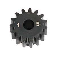 Losi 1.0 Module Pitch Pinion, 15T: 8E - Losa3575