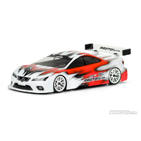 Protoform Spec-6 190MM X-Light Weight Clear Touring Car Body - Pr1568-20