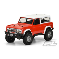 PROLINE 1973 FORDå¨ BRONCO CLEAR BODY FOR 313MM CRAWLERS - PR3313-60
