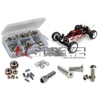 Kyosho Rb6 Stainless Steel Screw Kit - Rckyo144