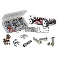Mugen Mbx-7R Stainless Steel Screw Kit - Rcmug030