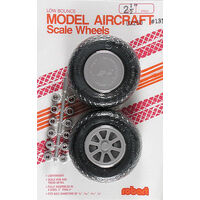 Robart Scale Wheels: 2.50 Inch X-Tread - Rob-131