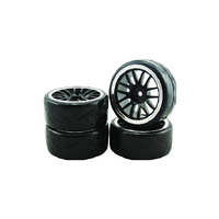 1/10 Drift 14-Spoke Tire Set - Vskt637030S