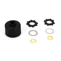 Vaterra Diff Housing And Spacers: V100 - Vtr232048