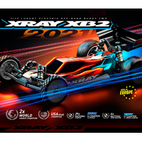 XRAY XB2 - 2021 SPECS - 2WD 1/10 ELECTRIC OFF-ROAD CAR - CARPET EDITION - XY320010