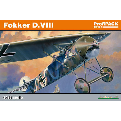 Eduard 1/48 Fokker D. Viii Plastic Model Kit 8085